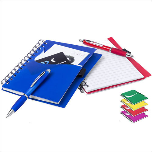 PP Cover Notebook With Pen