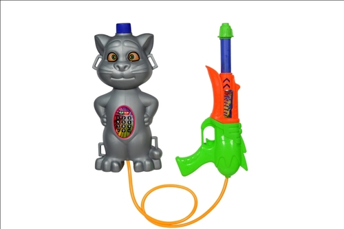 Silver Cat Water Gun