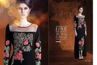 Black Party Wear Kurti