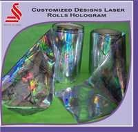 Holographic Laser Custom Design Hologram Rolls