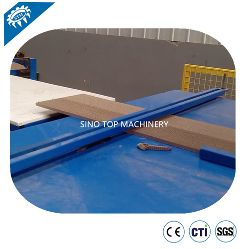 Inverted Honeycomb Corrugation Core Machine