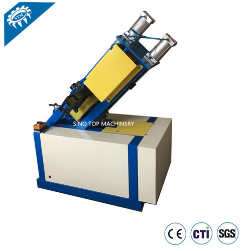 Coil Edge Protector Rotary Notcher | Edge board Notching Machine