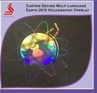 Holographic Custom Secure Earth Multi Language 2016