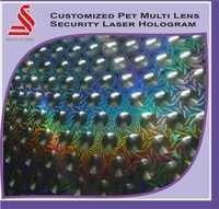 Custom Design Pet Multi Lens Holographic Security Hologram