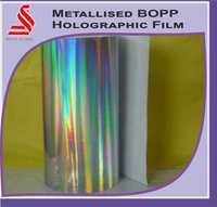 Custom Metallized Holographic Film