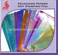 Hot Stamping Foil Packaging Foil Papers
