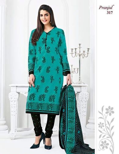 Shree Ganesh Cotton Printed Dress Material