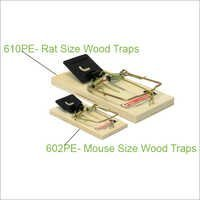 610PE- Rat Size Wood Traps