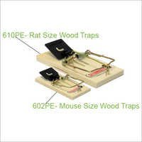 602PE- Mouse Size Wood Traps