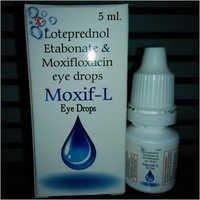 Loteprednol Etabonate & Moxifloxacin Eye Drop