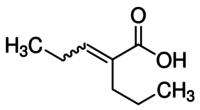 2-Propyl-2-pentenoic acid