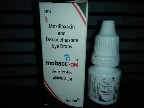 Moxifloxacin & Dexamethasone Eye Drop