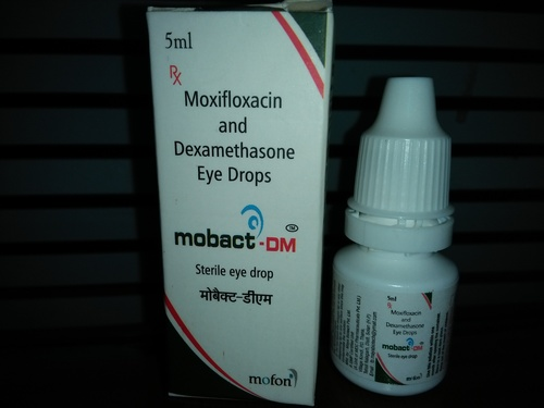 Moxifloxacin & Dexamethasone Eye Drops