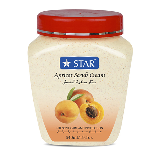 Apricot Face and Body Scrub Cream