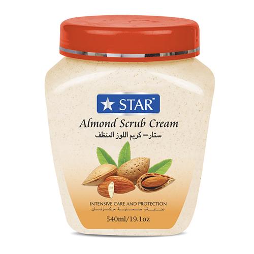 Papaya and Almond Face and Body Scrub Cream