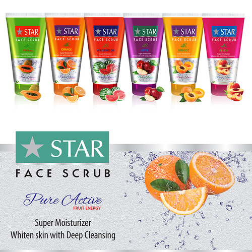 Fruit Face Scrub Cream