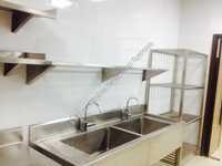 SS Three Sink