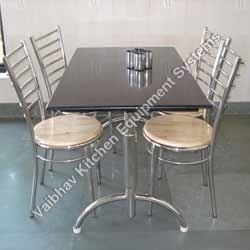 S.S. 4 Seater table with Chairs