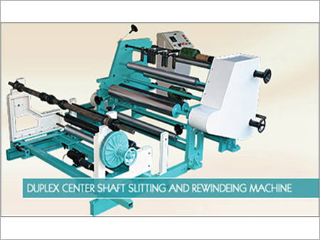 Duplex Center Shaft Rewinding Machine