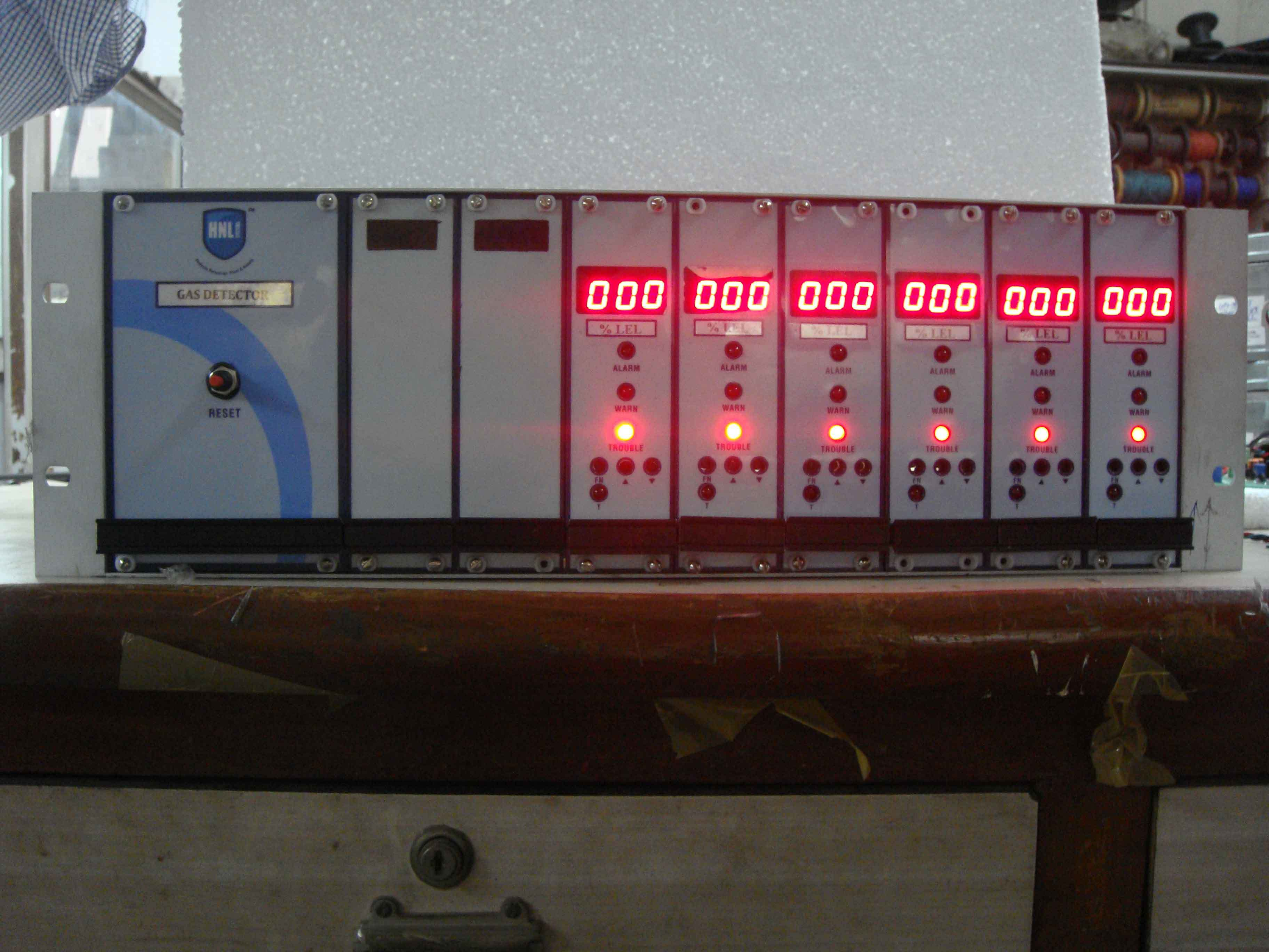 Continuous Ambient Gas Monitoring Systems