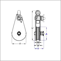 Open Type Pulley