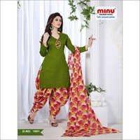 Satin Jaquard Special Patiala Suit