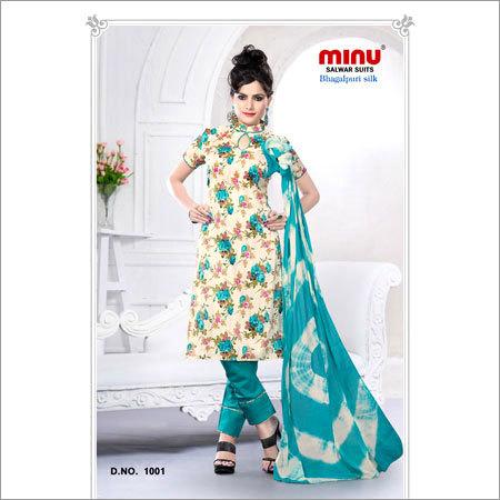 Bhagalpuri Silk Salwar Suits