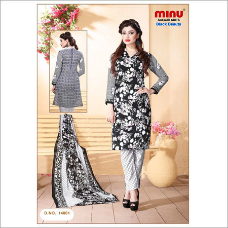 Black beauty Salwar Suits