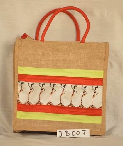 Shadow Dance design Lunch Jute Bag