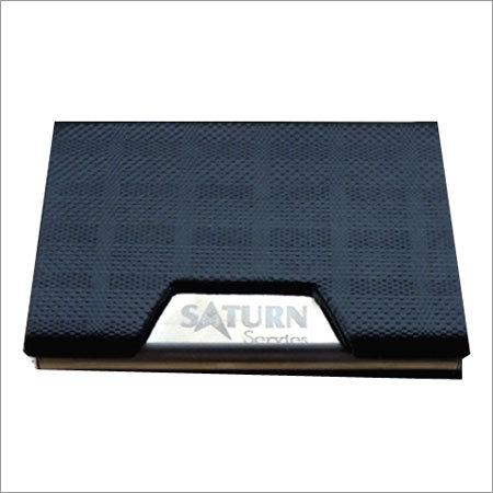Black Texture Card Holder
