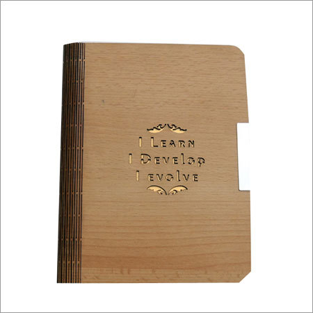 Wooden A5 Notebook