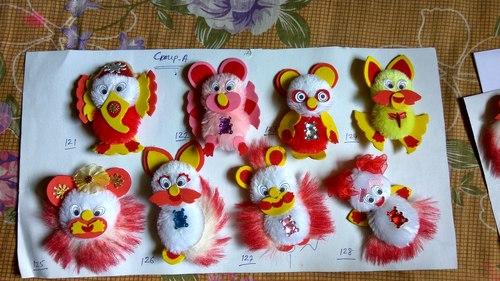 Kids Rakhi Material: Cotton