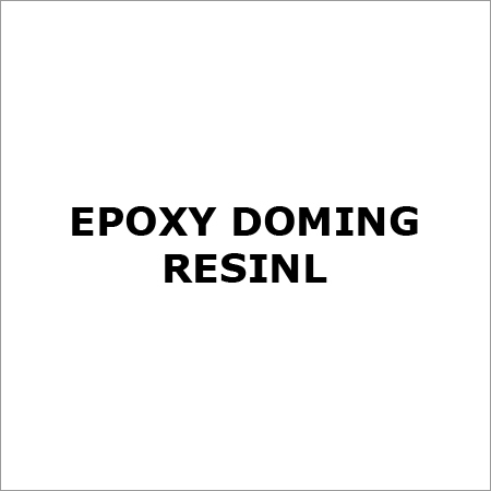 Epoxy Doming Resin
