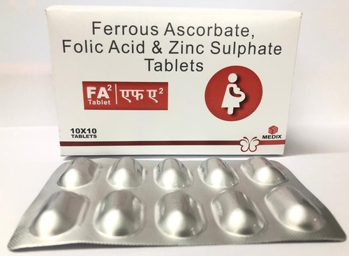 Folic Acid & Zinc Tablets