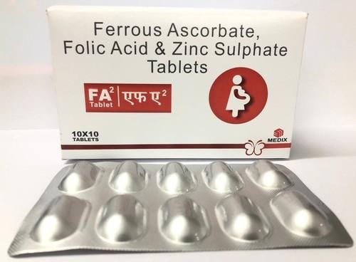Folic Acid & Zinc Tablets