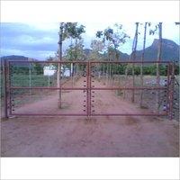 Solar Fencing Gate