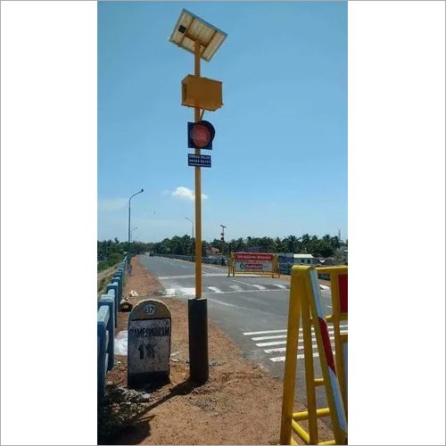 Solar Powered Traffic Light