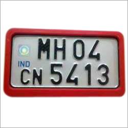 2 Wheeler Number Plate Frame