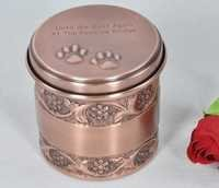 PET PAW PRINT COPPER URN