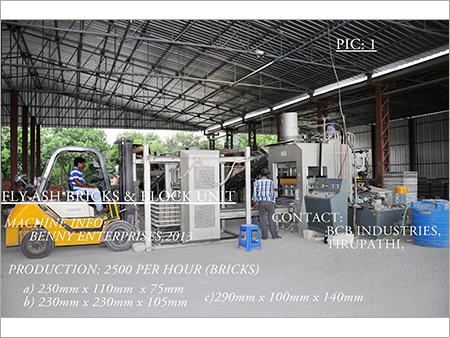 Fly Ash Bricks Manufacturing Unit