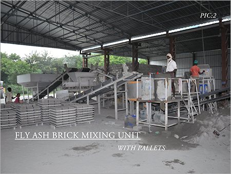 Fly Ash Brick Mixing Unit