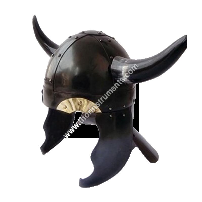 Viking Barbarian HM259 Armor Helmet With Horns