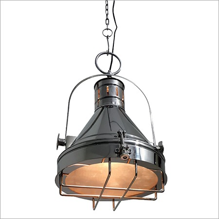 Vintage chrome pendant lampdesigner chrome pendant lampdesigner classical nautical pendant light home decor aloadofball Image collections