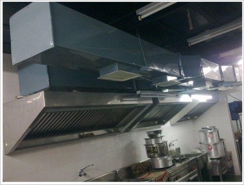 Commercial Kitchen Fresh Air Systems