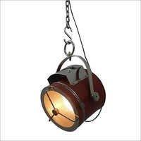 Vintage Leather Pendant Lamp Ceiling Light Decor