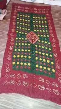 Bandhani Dupatta Materials