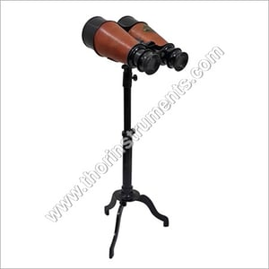 Antique London 1917 Binocular With Stand