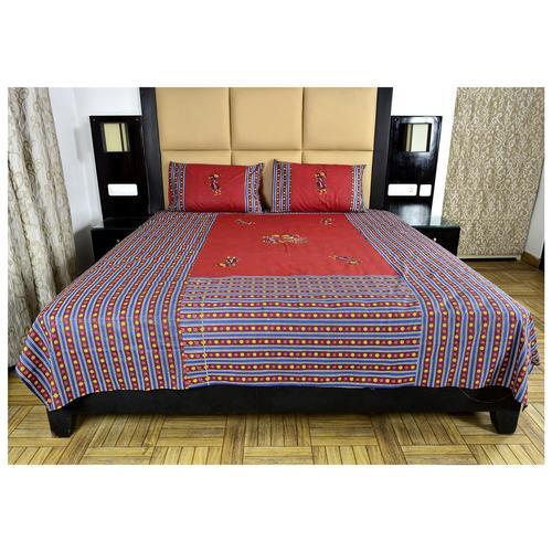 Indian Rajasthani Design Cotton Bedshee
