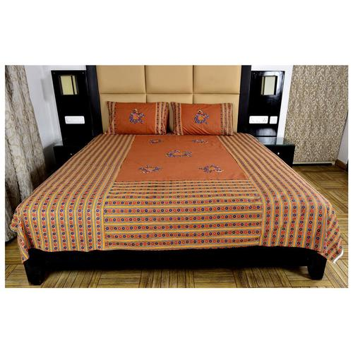 Animal Patch Work Design Bed Sheet