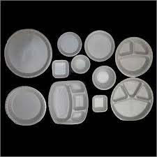 Thermocol designer plates and dona